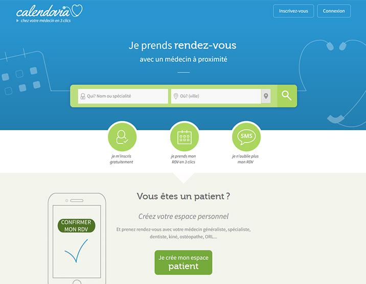 Prise de rendez-vous par internet - Calendovia