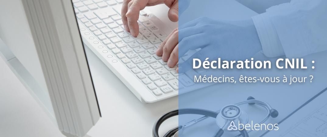 M2decin ordinateur déclaration CNIL Permanence téléphonique