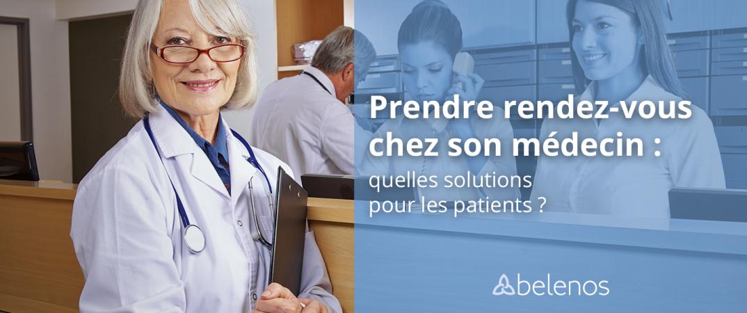 Prise de rendez-vous médicaux et permanence téléphonique pour patients et docteurs